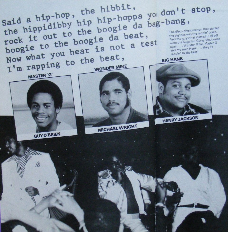 (From the book) The Sugarhill Gang: Delightful indeed.